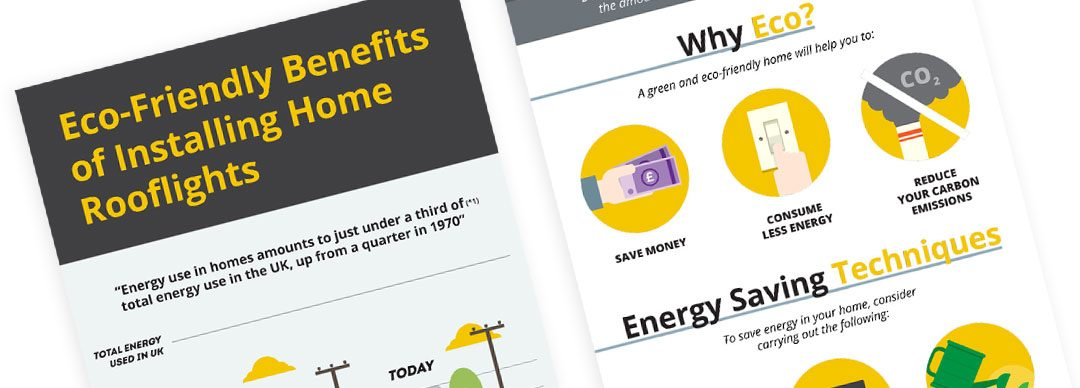 Eco-Friendly Benefits of Installing Home Rooflights (Infographic)