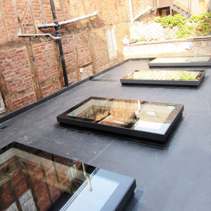 Rooflights for flat roofs by EOS