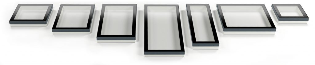 our range of stock rooflight sizes
