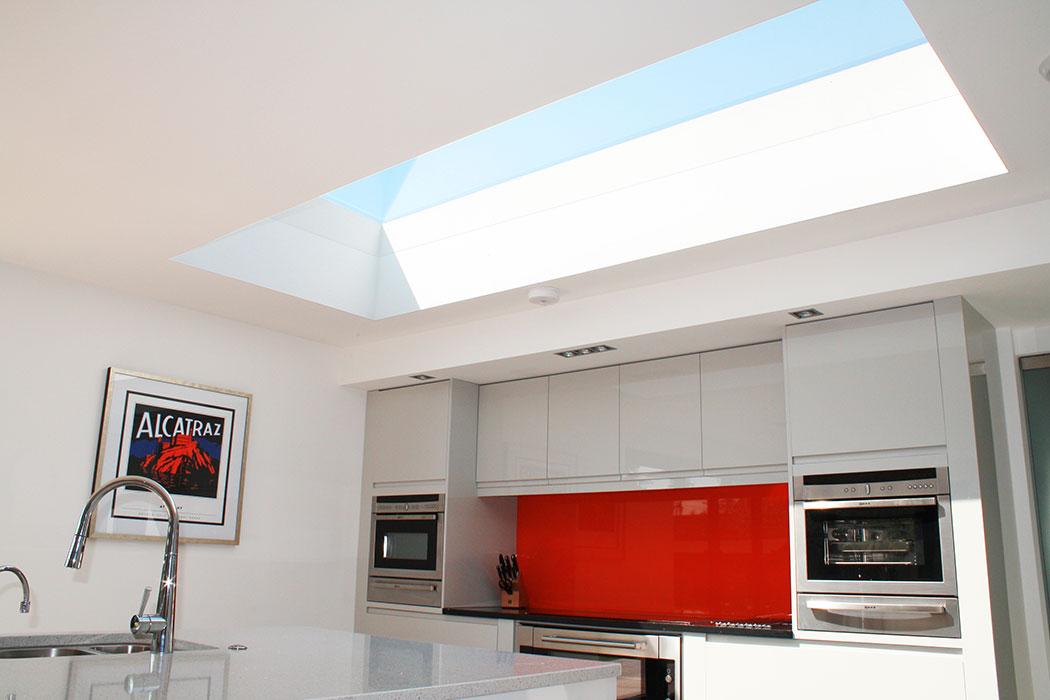 internal kitchen rooflight