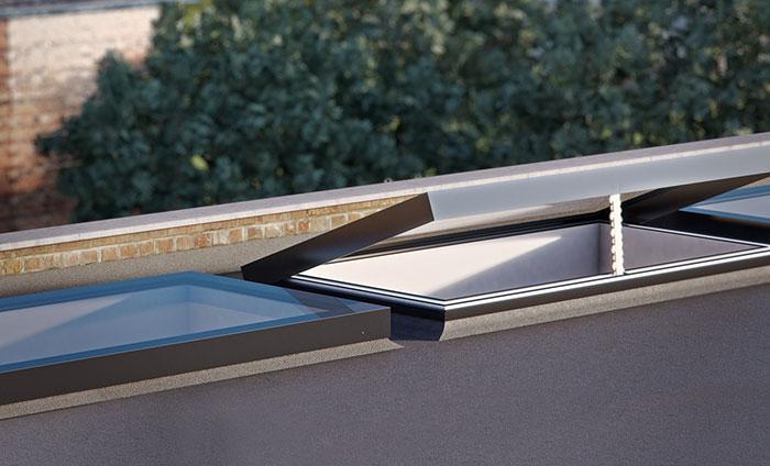 External opening rooflight