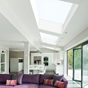 Hinged Opening Skylights by EOS