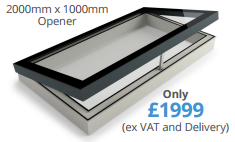 our most popular opening rooflight