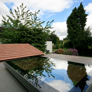 Glass rooflight by EOS Rooflights