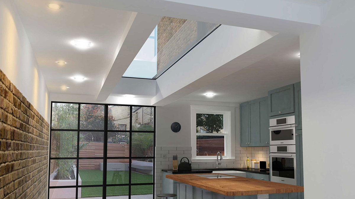 High Specification Fixed Rooflights Eos