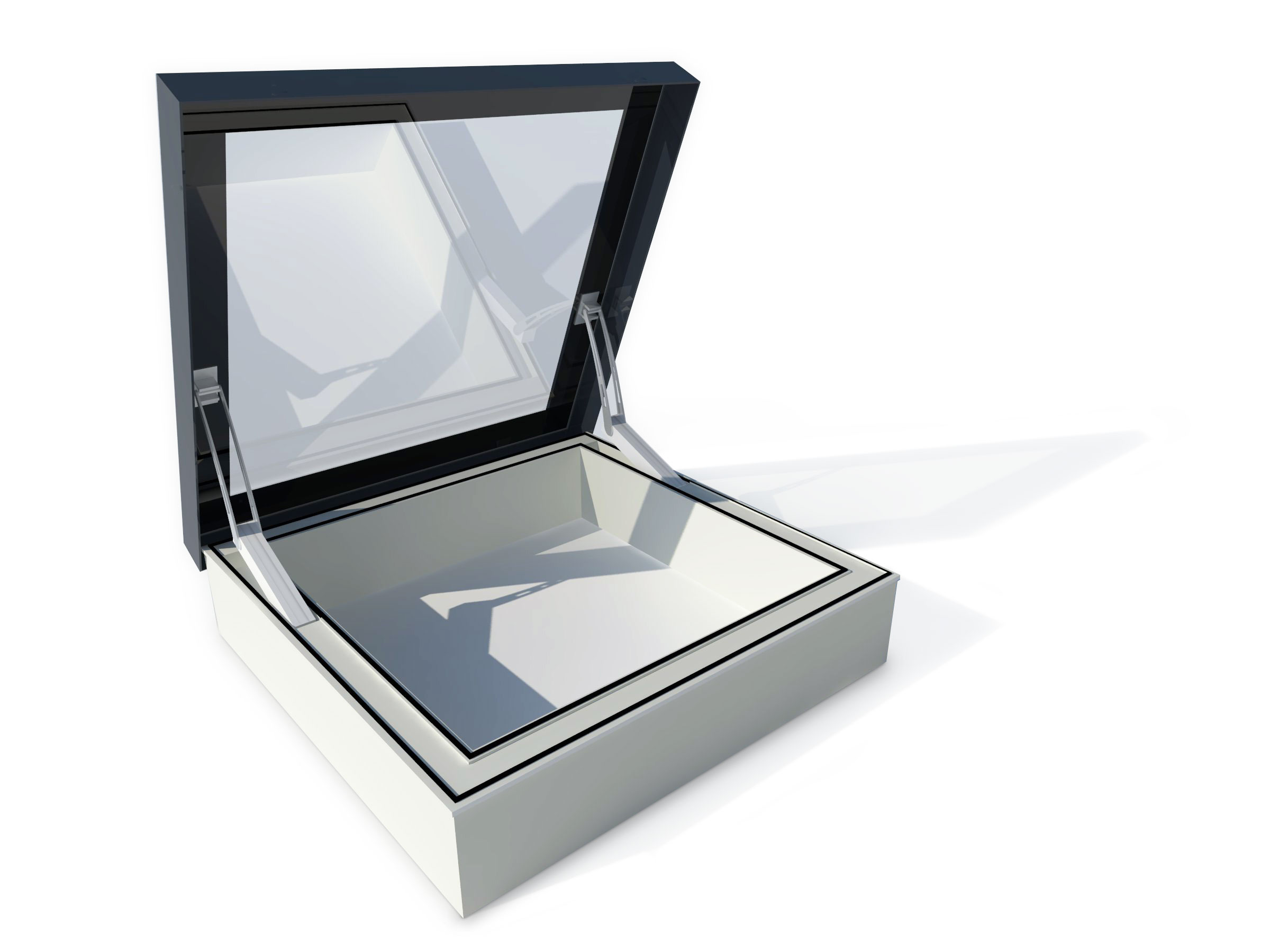 Access hatch and Smoke Ventilation rooflight
