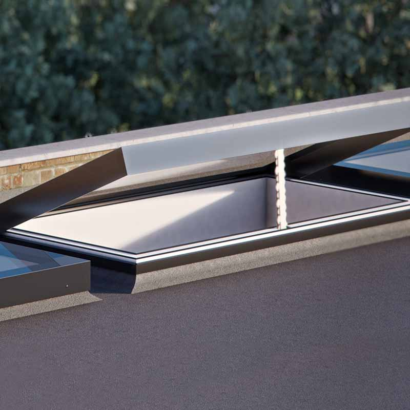 Opening Rooflight for Flat Roofs
