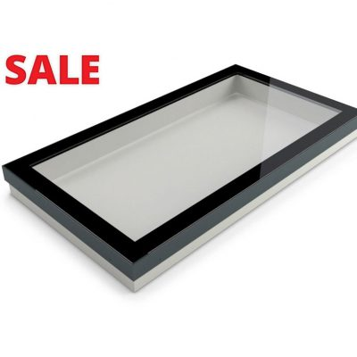1000 x 2000 fixed rooflight with an upstand
