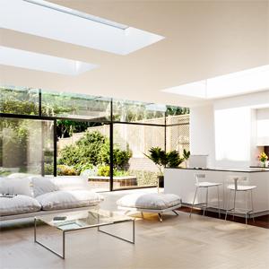 2 panel modular rooflights
