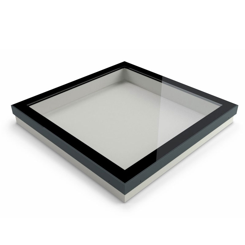 Eco triple glazed rooflight in warm roof
