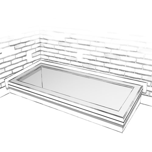 Technical Drawings for EOS rooflights