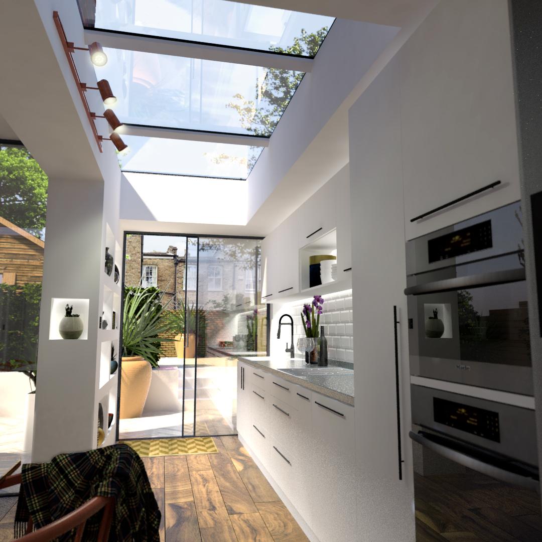 Modular Kitchen Skylight