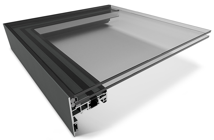 Image showing our insulated upstand for EOS Fixed Rooflights